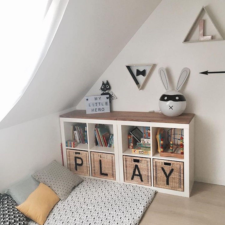 Ikea Kallax Shelves In Kids Rooms