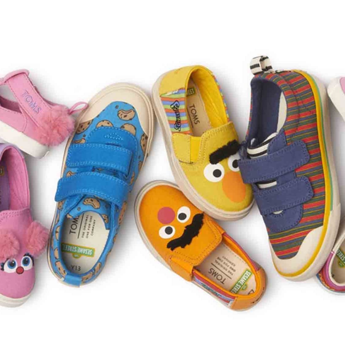 TOMS Sesame Street Shoes   POPSUGAR Family