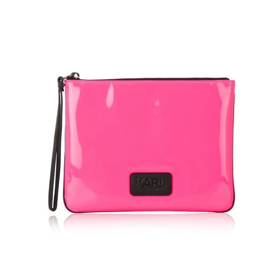 Pouch, $96.88, Karl Lagerfeld at Net-A-Porter
