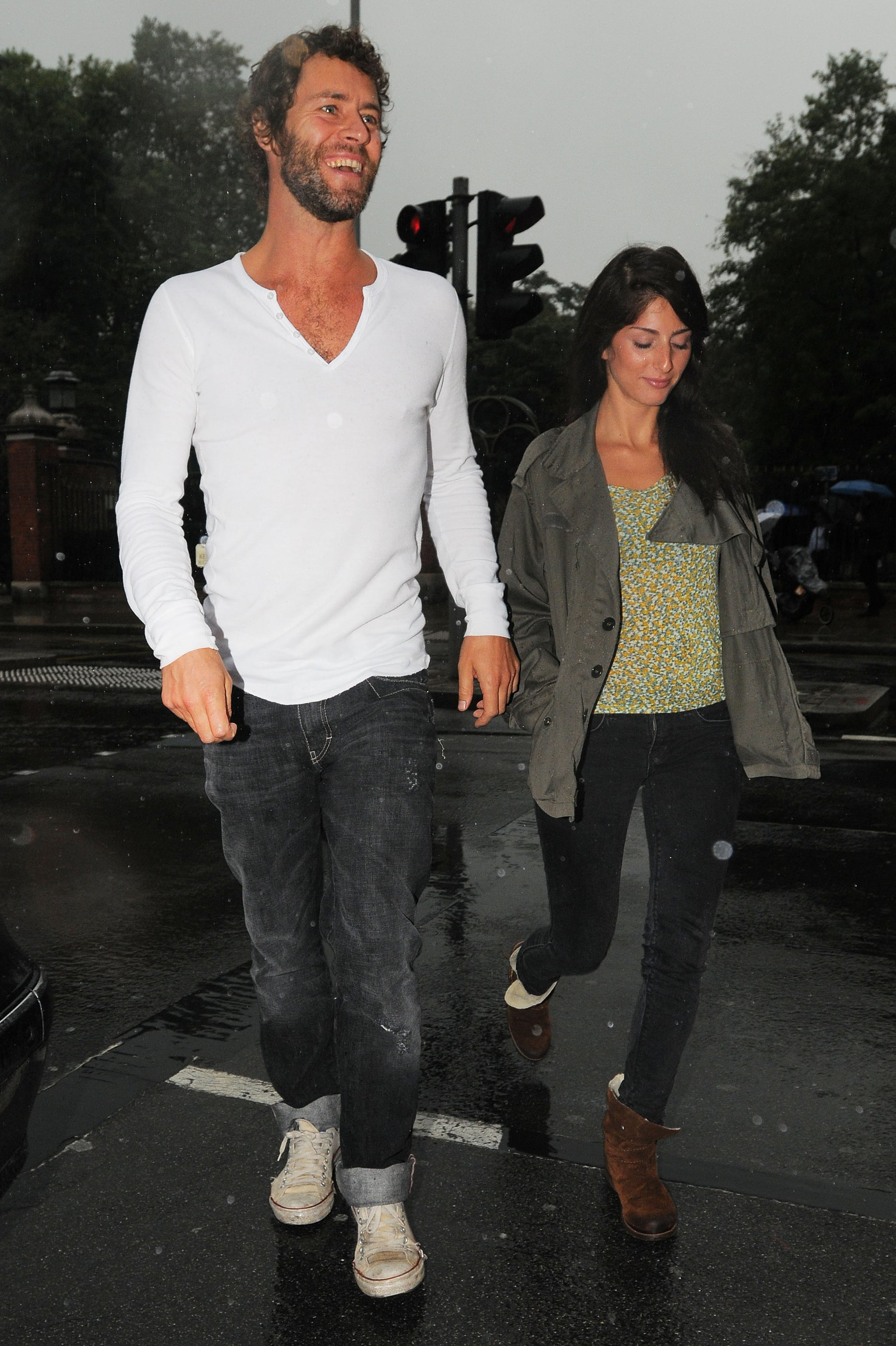 Pictures Of Howard Donald And His Girlfriend In London