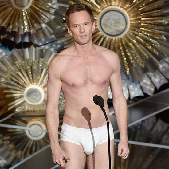 Neil Patrick Harris Naked Birdman Spoof From Oscars