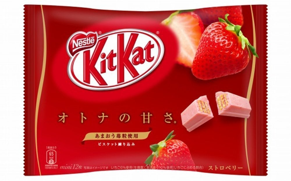 Japanese Kit Kat Strawberry