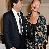 Jamie and Kate shared a laugh at the Laurence Olivier Awatds in London in April 2014.