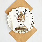 Hipster to Be Square Notecard Set