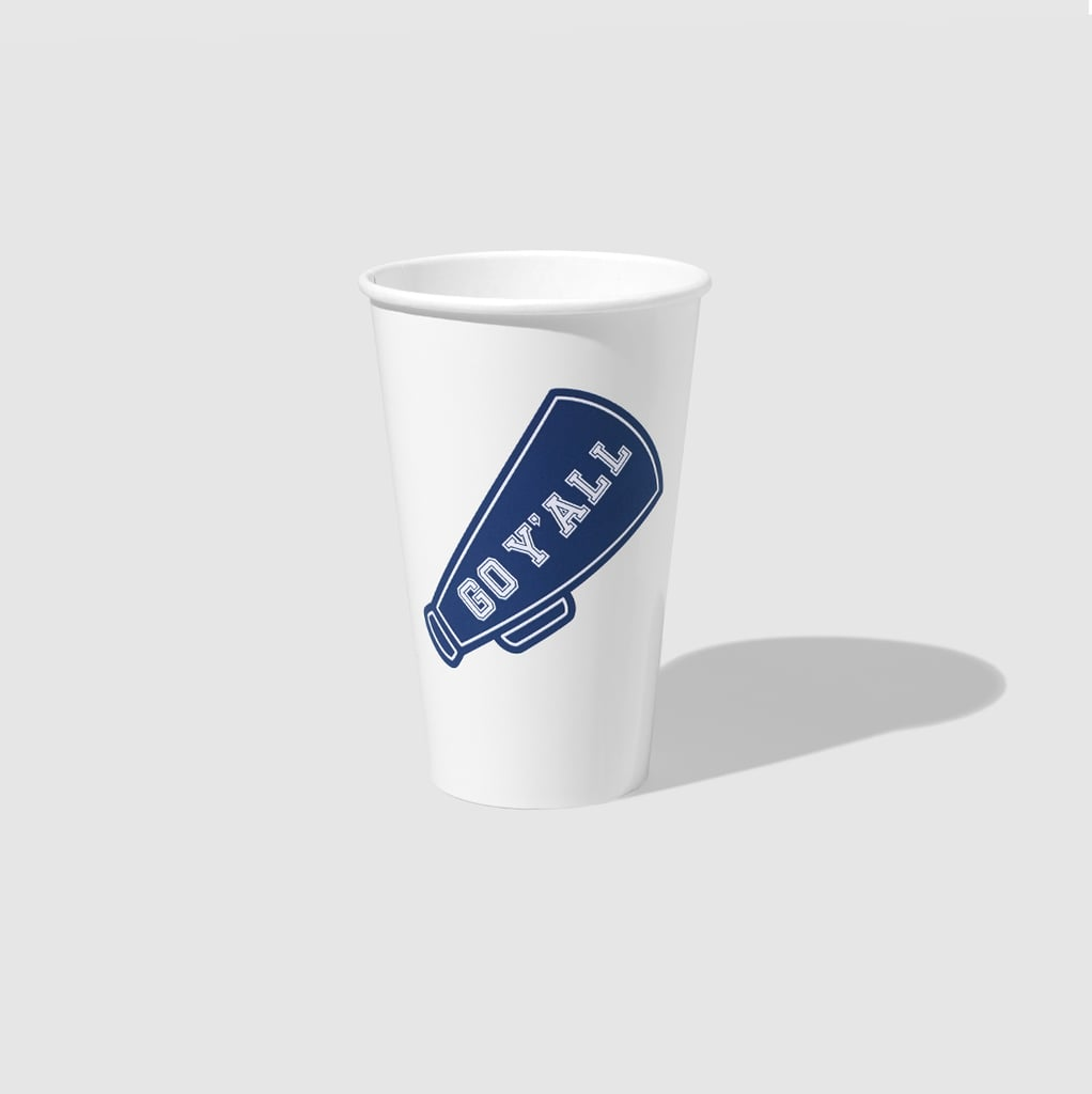 Draper James x Coterie Game Day Stadium Cups