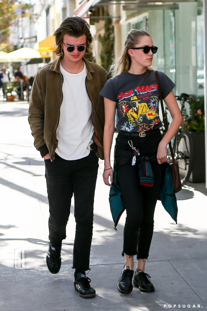 Maika Monroe's Dick Tracy T-Shirt
