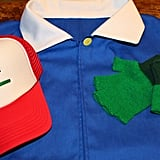 Ash Shirt, Hat, and Gloves