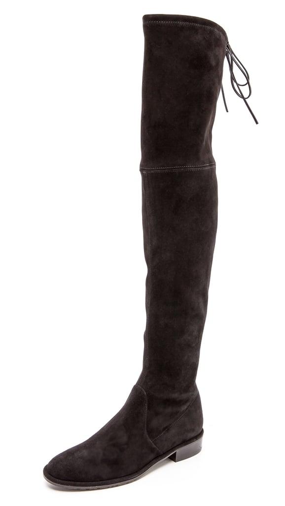stuart weitzman lowland thigh high flat boots fall