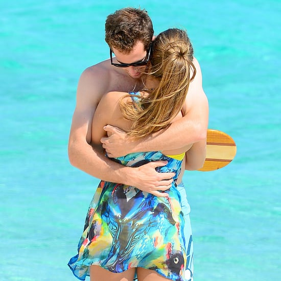 Andy Murray and Kim Sears on the Beach