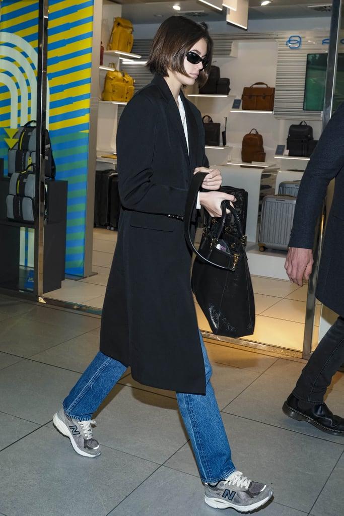 Kaia Gerber's Street Style at Milan Fashion Week