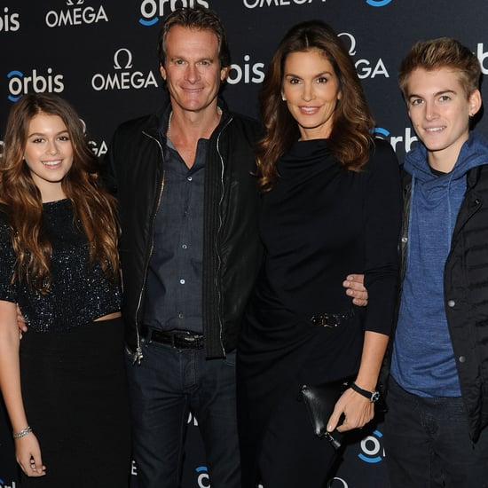 Cindy Crawford Family on the Red Carpet 2015