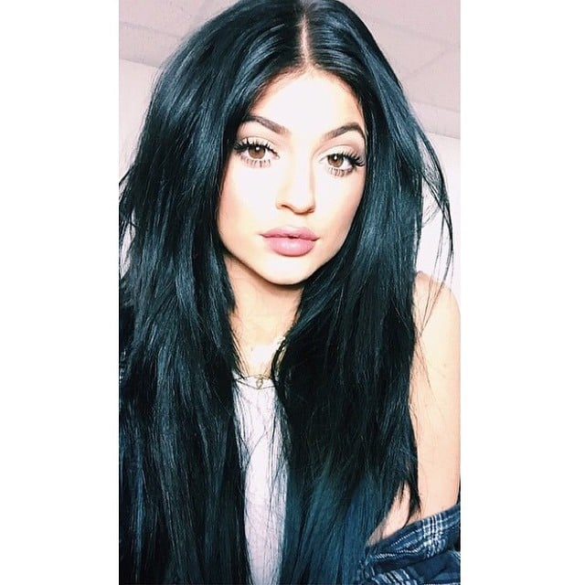Kylie With Her New Hair Joins The Celeb Studded Mermaid Brigade