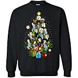 Chibi Grey's Anatomy Christmas Tree Sweatshirt