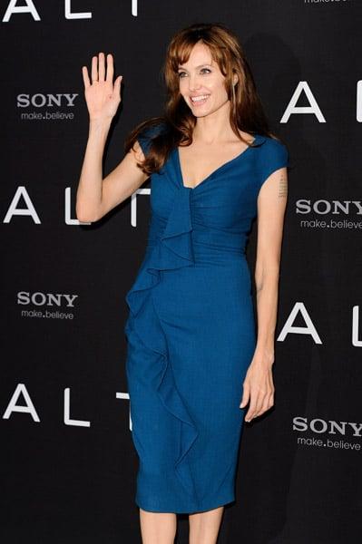 Angelina Jolie at Berlin Photocall for Salt
