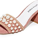 Jeffrey Campbell Pearl Embellished Sandals