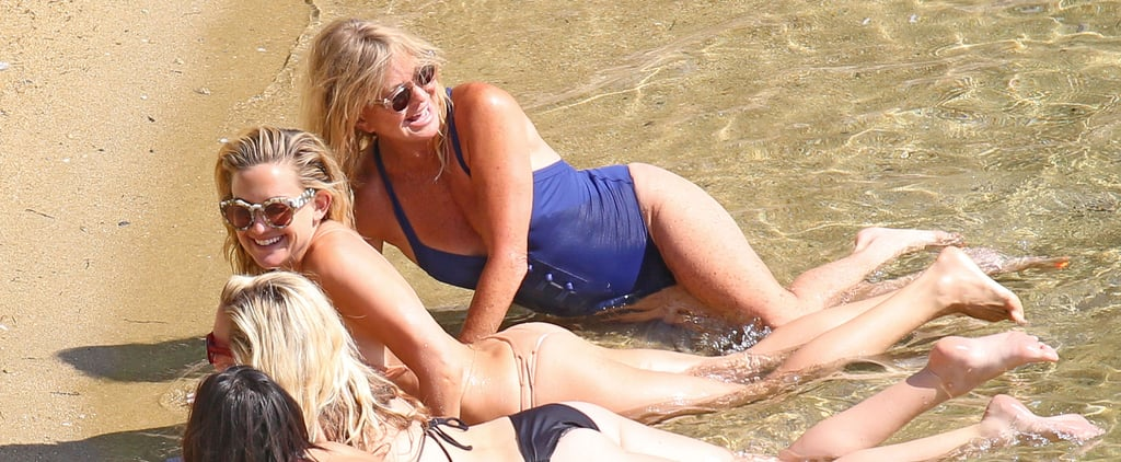 Kate Hudson Bikini Pictures in Greece June 2015