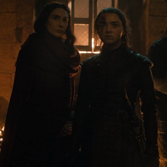 Melisandre's Brown Eyes, Blue Eyes Speech on Game of Thrones