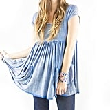 The Two Hands Two Hearts Mini Dress ($74) looks great paired with jeans or leggings!