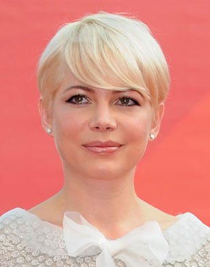 Michelle Williams Goes Back to Her Blond Pixie Cut