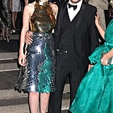 Carey Mulligan and her new husband, Marcus Mumford, made it a couple's night just two weeks after tying the knot.