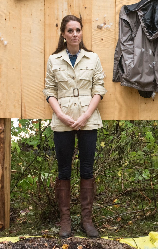 a1d8c698b47 Kate Middleton in Her Penelope Chilvers Tassel Boots at the Great Bear  Rainforest, September 2016