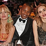 Georgia May Jagger, Eric Underwood, and Suki Waterhouse