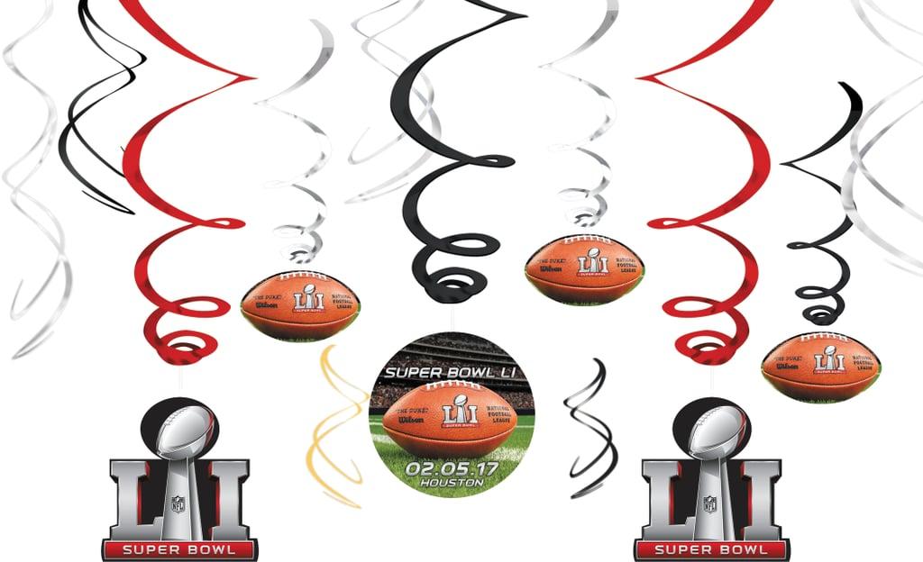 Super Bowl Swirl Decorations Party City Super Bowl Party Supplies Impressive Party City Super Bowl Decorations