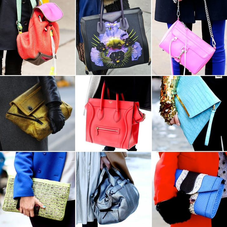 Spotted on the Streets — Over 75 of the Hottest Bags at NYFW
