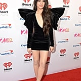 Camila Cabello Is a Gift in This Velvet Redemption Dress