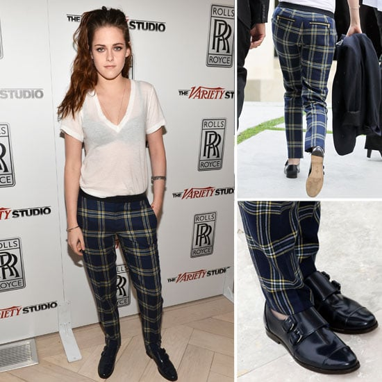 Kristen Stewart in Juicy Couture Plaid Pants (Pictures)