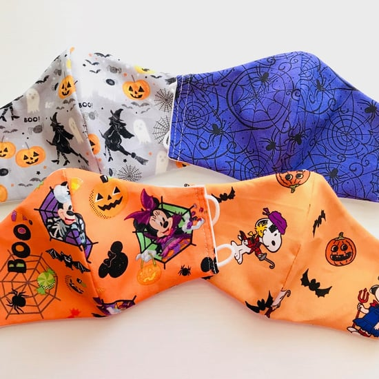 Halloween-Themed Protective Face Masks for Kids