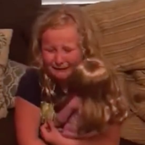 Girl Gets Doll With Prosthetic Leg