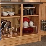Grayline 6-Piece Cabinet Organizer Set