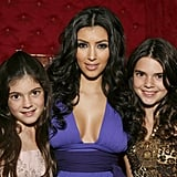 In 2007, Kendall and Kylie joined Kim to do press for Keeping Up With the Kardashians.