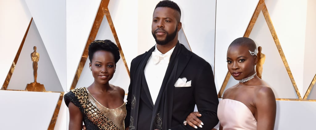 The Cast of Black Panther Looks So Freaking Stunning at the Oscars, It Will Take Your Breath Away