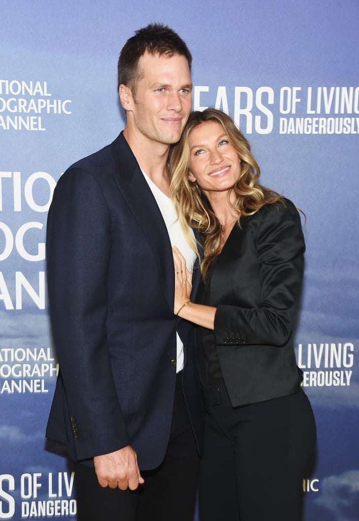 "Gisele Bündchen and Tom Brady made a rare appearance at National Geographic's Years of Living Dangerously season two premiere in NYC on Wednesday night. The couple, who tied the knot back in 2009, looked like lovestruck teenagers as they posed for photographers on the red carpet. Gisele announced that she would be appearing in the climate-change-focused documentary on Instagram back in June, writing, ""I'm excited to be joining season two of @YearsofLiving Dangerously as a correspondent, exploring deforestation and climate change in my beautiful home country of Brazil,"" and earlier in the evening, she uploaded a cute photo of her and Tom before heading to the event.   We haven't seen much of Gisele and Tom on the red carpet since they attended the Met Gala back in 2014, though they are often spotted relaxing on the beach somewhere exotic or hanging out with their kids, Jack, Benjamin, and Vivian.      Related:                                                                Gisele Bündchen and Tom Brady's Hands-Down Cutest Family Moments                                                                   All of Gisele Bündchen's Scorching-Hot Bikini Pictures                                                                   Tom Brady and Gisele Bündchen's Hottest PDA Moments"