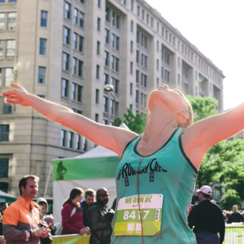 What to Do Right After You Finish a Marathon