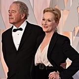 Don stood by Meryl's side at the 2015 Oscars.