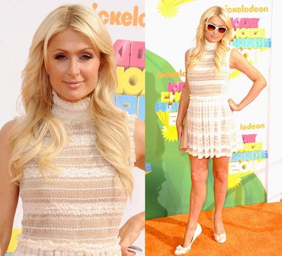 Paris Hilton at the Kids' Choice Awards 2011