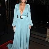 Jennifer Lopez Wears Elie Saab Gown to LACFA Awards