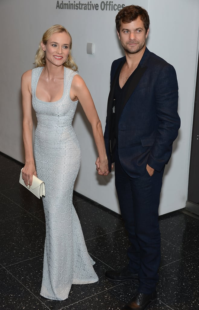 Diane Kruger had boyfriend Joshua Jackson on her arm last night for the NYC premiere of her film Farewell, My Queen. The couple hit the red carpet alongside the movie's director, Benoit Jacquot, and some famous fans like Kelly Rutherford and a just married Margherita Missoni. Diane was ready for Summer in a dress from Azzedine Alaia while Josh looked hot in a suit by Rag & Bone. The Big Apple is Josh and Diane's latest stop, following a stint in Europe. Josh and Diane hung out in their second home city, Paris — they also have a place in LA. They dressed up to check out last week's Chanel Haute Couture show and made sure to fit in a few days to visit other favorite Parisian spots. Diane's latest is out in the US in limited release this Friday, but hit theaters in Europe earlier this year.
