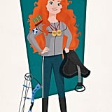 Career-Driven Merida: Two-Time Olympian (Archery and Equestrian)