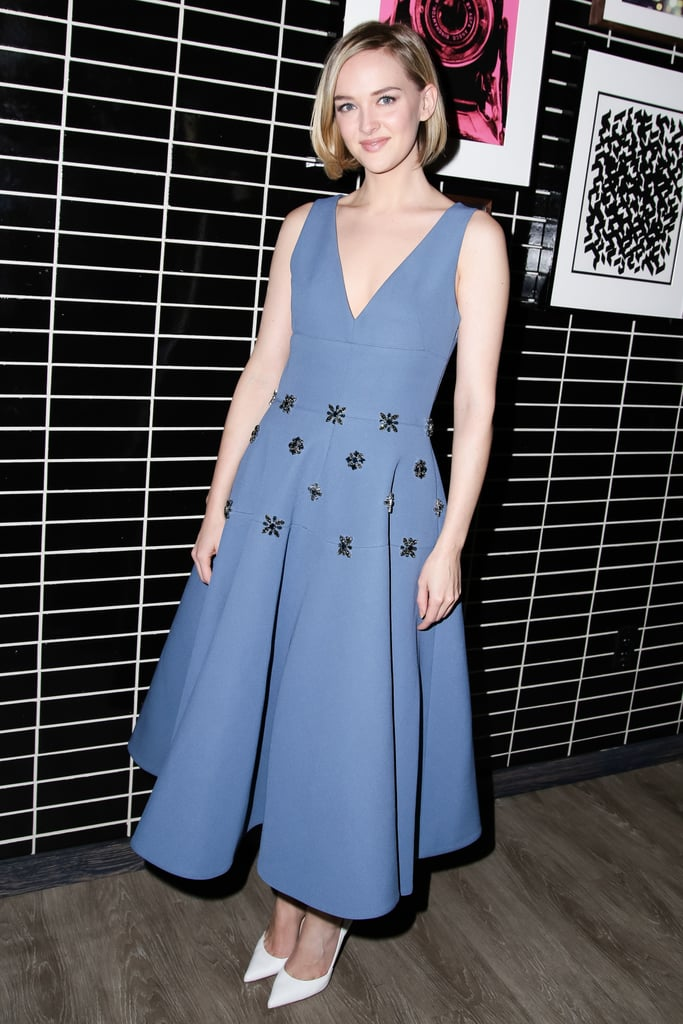 Jess Weixler at the Brooks Brothers screening of The Secret Life of Walter Mitty.