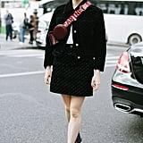 Maisie Williams at Stella McCartney's Paris Fashion Week Show
