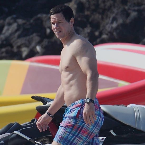 Mark Wahlberg Shirtless in Hawaii   Pictures