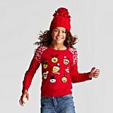 Emoji Ugly Christmas Sweater