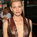 Elizabeth Banks Goes Metallic to Premiere People Like Us With Chris Pine