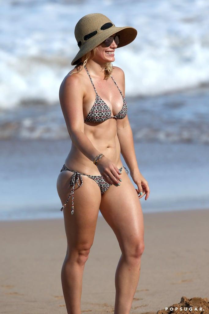 Hillary duff bikini underwear