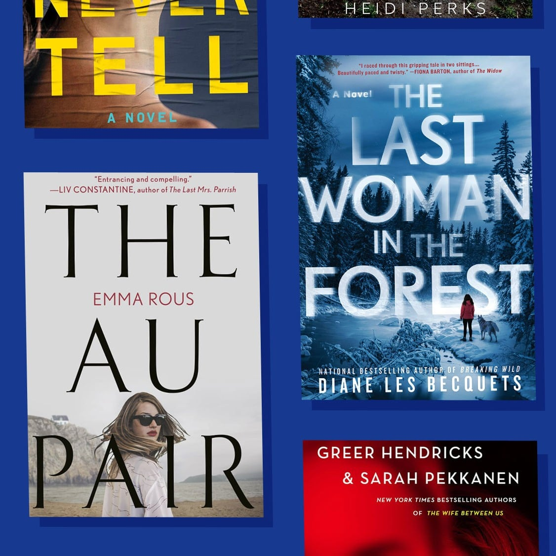 best selling thrillers 2019 Thrillers and Mystery Books to Read in Winter 2019 | POPSUGAR
