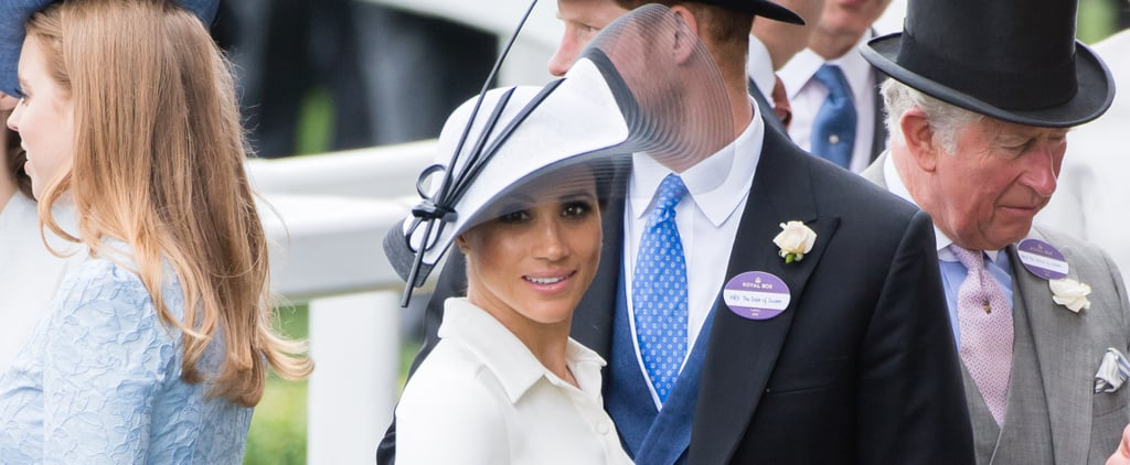 Meghan Markle's Givenchy Shirt Dress Royal Ascot 2018